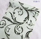45cm x 10m Roll Vintage Style Pattern Vinyl Furniture Wall Paper Sticker p140-5