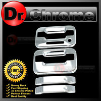 04-14 Ford F150 Triple Chrome Plated 2 Door Handle+keypad+no PSG keyhole Cover
