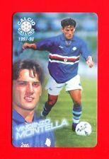 CALCIO CALLING 1997-98 Panini 1997 - Card n. 39 - MONTELLA - SAMPDORIA -New