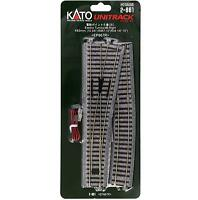 Kato 2-861 Aiguillage Droite / Electric Turnout Right #6 R867 10° - HO