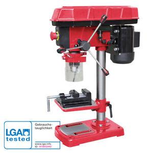 WALTER Tischbohrmaschine Säulenbohrmaschine Standbohrmaschine 500W, Schraubstock