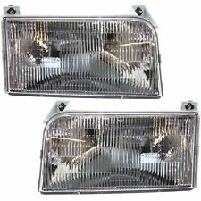 NEWMAR KOUNTRY STAR 1999 2000 2001 PAIR FRONT HEAD LIGHTS LAMPS RV - SET