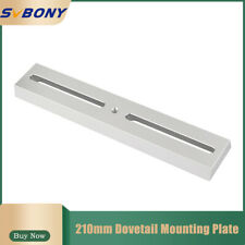 Svbony 210mm Long Silver Dovetail Mounting Plate for Astronomical Telescope Part