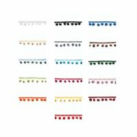 20mm Pom Pom Trim - 16 Colours - Multibuy Savings & Free Postage