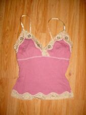 SELF ESTEEM-Belly Cleavage Club-LACE MAUVE PINK Top-S
