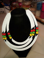 necklace from Kilimanjaro Maasai cultural beaded collar