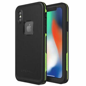Case LifeProof fre Waterproof for iPhone X Black - 77-57163 Night lite UK Seller