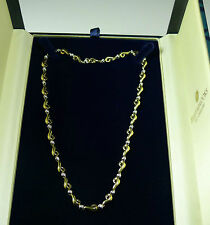 BEAUTIFUL 19.0 GR 9CT GOLD 0.82CT DIAMOND NECKLACE VALUATION $5800