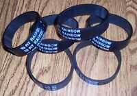 6 Count BRAND NEW Belts Fit Rainbow Rexair Vacuum Cleaner & BRAND NEW