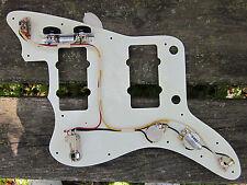 FENDER Jazzmaster Wiring Harness VINTAGE CORRECT 22GA COLOR CLOTH WIRE PIO Cap's