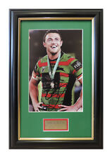SAM BURGESS SOUTH SYDNEY RABBITOHS GRAND FINAL HEROE SIGNED FRAMED
