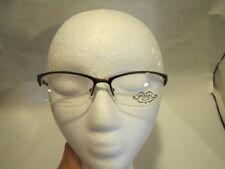 Phoebe Couture  Eyeglass Frames P243 BROWN 51-16-135 FLEX HINGES  e357