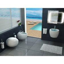 Sanitari sospesi moderni wc bidet e copriwater soft close NUVOLA