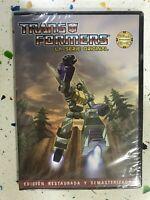 Transformers La Serie Originale DVD Nuovo Masterforce Takara Episodi 33 - 36