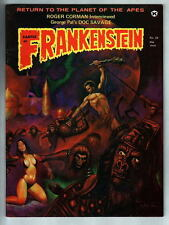 CASTLE Of FRANKENSTEIN Magazine #23 1974 Gothic Castle Planet of Apes Doc Savage
