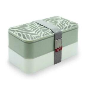 Portavivande porta pranzo cibo portatile coperchio decorato e posate Lunch Box
