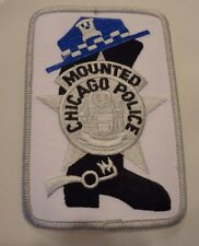 """Chicago Police Shoulder Patch"""" Mounted Police"""""""