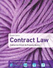 Contract Law,Catherine Elliott, Frances Quinn- 9781408282915