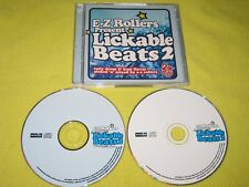 E-Z Rollers Present Lickable Beats 2 - 2 CD Album Drum n Bass Jungle Dance