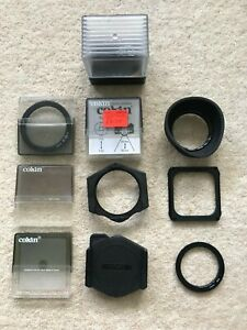COKIN FILTERS AND MOUNT, VARIOUS