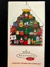 Hallmark Kids Santa's Workshop Countdown Advent Felt Calendar 2006