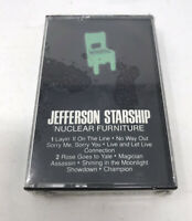 Jefferson StarShip Nuclear Furniture Cassette Audio Tape - RCA Records 1984 -NEW
