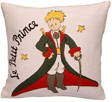 "NEW PETIT PRINCE COSTUME BELGIAN TAPESTRY CUSHION COVER 18"" 48CM, ZIPPED"