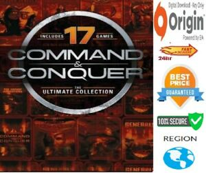 Command and Conquer The Ultimate Collection (17 GAMES) PC Origin NO DISC OR BOX