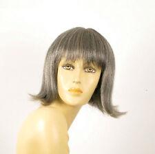 perruque femme 100% cheveux naturel grise ref FRANCOISE 44