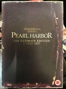 Pearl Harbor (DVD, 2002) 3 Disc Ultimate Edition
