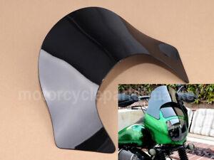Black Lip Windshield Windscreen Shield for Harley Dyna Sportster Softail H1151S