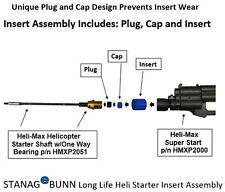 Nitro Heli/Plane Electric Starter Insert Assembly - Extended Life, Unique Design