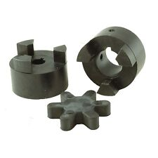 """Lovejoy Style Jaw Coupler 1/2"""" X 3/4"""" fits 6.5 HP or Smaller Engines PMC-LS-902"""