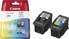 2 ORIGINALDRUCKERPATRONEN CANON PG-540 CL-541 PIXMA MG3150 MIT CHIP MG3550 MX395