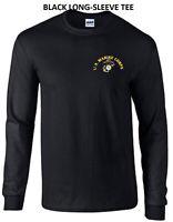 Marines USMC Military Semper Fi Oorah Long Sleeve Tee T-Shirt New