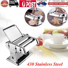 Stainless Steel Removable Pasta Make Roller Machine Dough Fresh Noodle Maker