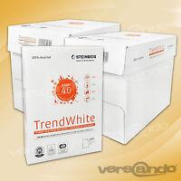 5000 Steinbeis Trend White DIN A4 80g Kopierpapier Druckerpapier Made in Germany