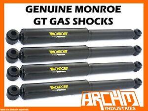 FRONT & REAR MONROE GT GAS SHOCK ABSORBERS FOR TOYOTA CORONA RT40/RT80 SEDAN
