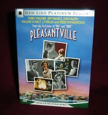 Pleasantville New Line Platinum Series Dvd Mint Tobey Maguire Reese Witherspoon