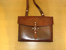 New listing Vintage 1970 Swiss Army Military Leather Shoulder Bag