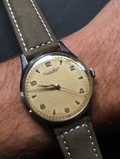 1940/50s IWC Schaffhausen Cal. 89 Mens Watch 35mm Steel Case