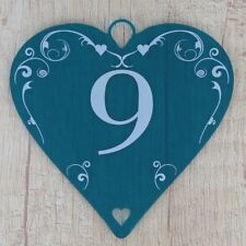 Wedding Table Numbers Centrepiece Decorations 10cm Acrylic Heart Rustic Bottle