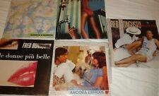 5 lp Fred Bongusto dischi vinile lotto blocco stock SIGILLATI mint da collezione