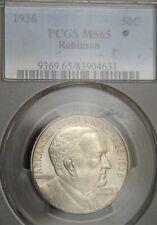 1936 Robinson Comm. Half Dollar PCGS MS65 (D0366)