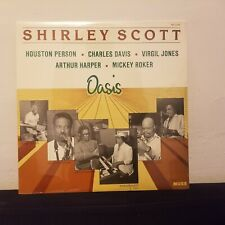 Shirley Scott.Oasis .Rare Orig.1st.Press on Muse 1990 w/Houston Person.Sealed LP