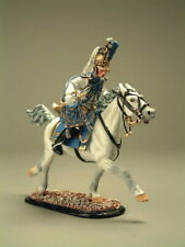 Painted Tin Toy Soldier Trumpeter Cavalry Guard Dragoon 54mm 1/32