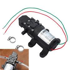Bomba de agua  doble diafragma 12V autocebante caravana 70W alta presión 6L/min