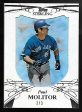 2010 Topps Sterling Framed Suede Parallel #56 Paul Molitor #3/3