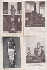 WW1 ANZAC group of 6 postcards from Egypt Mena Camp February 1915 to Australia