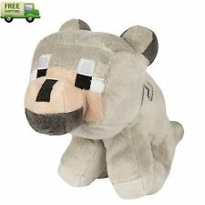 Minecraft JINX Soft Plush Stuffed Animal Wolf Toy For Kids best Gift New
